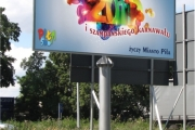 billboard PILA 2011 konstrukcja