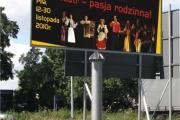 billboard PILA festiwal konstrukcja