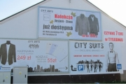 city suits billboard