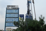 Pylon Centrum opon