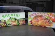 kasetony sałatki kurczak